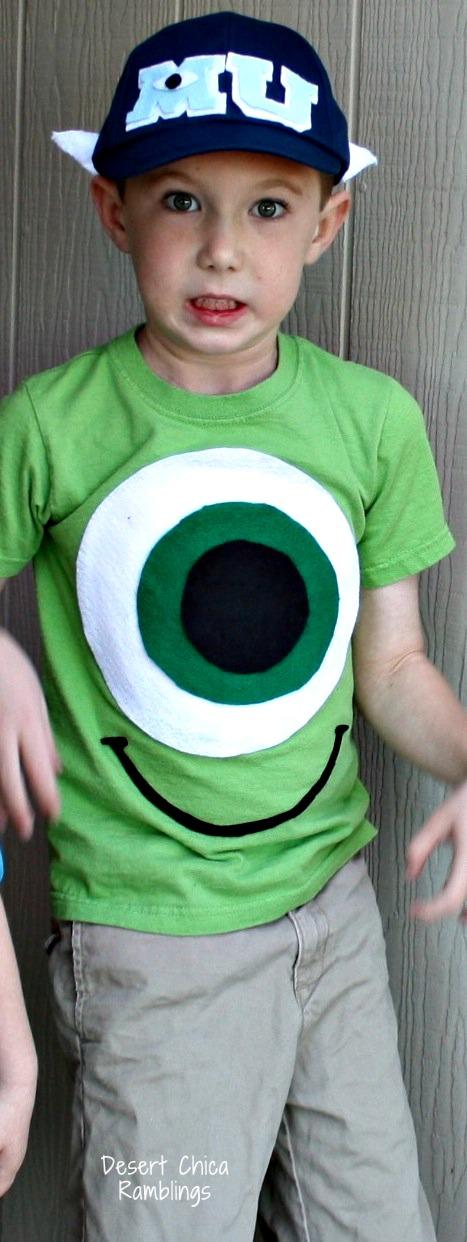 Mike Wazowski DIY Costume