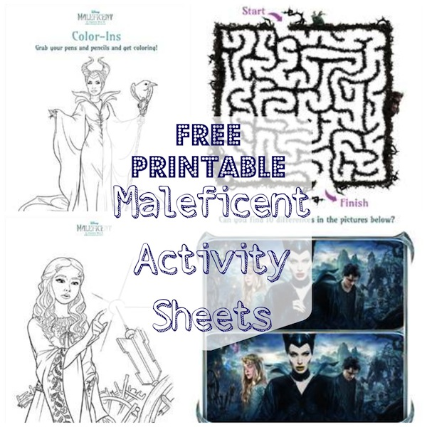 Maleficent Activity Sheets.jpg