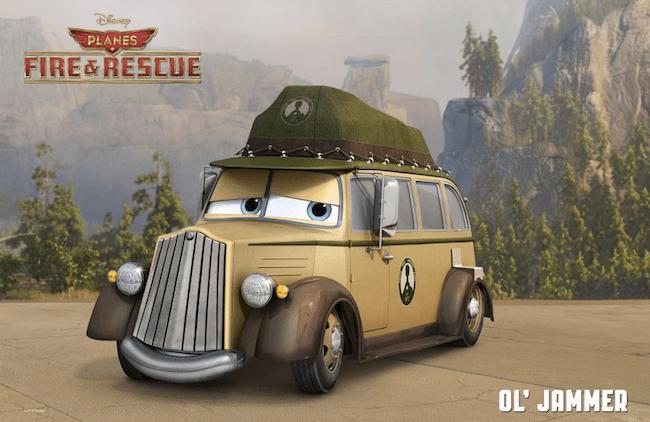 Old Jammer Disney Planes #FireandRescue