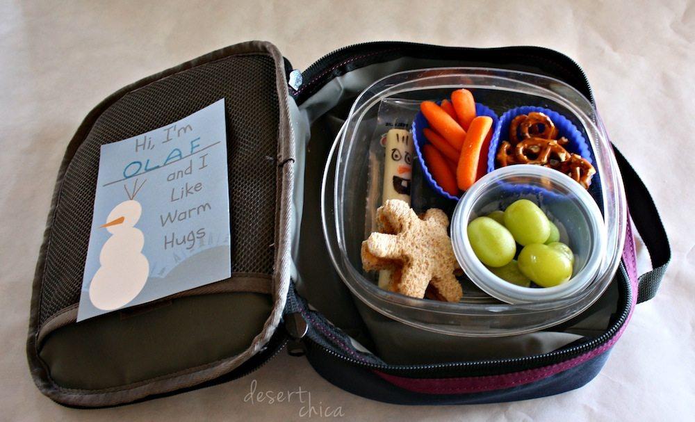 Disney Frozen School Lunch Box