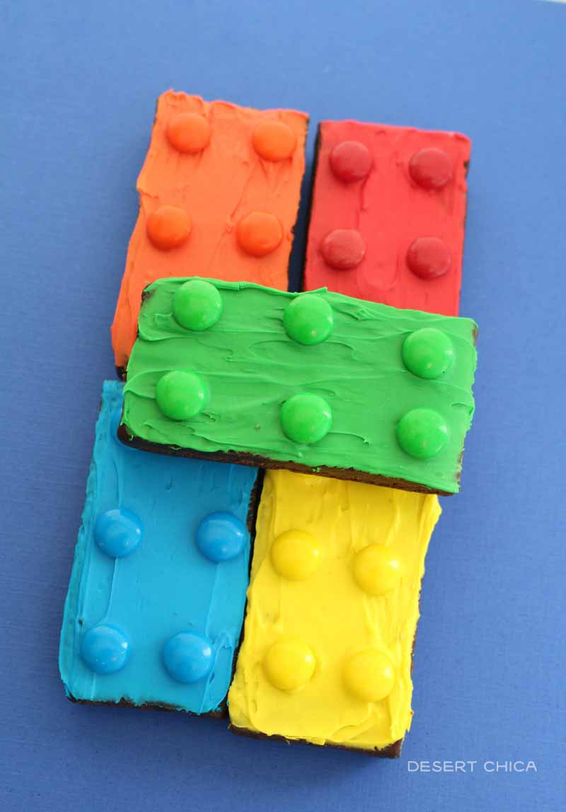 Stack of LEGO brownies