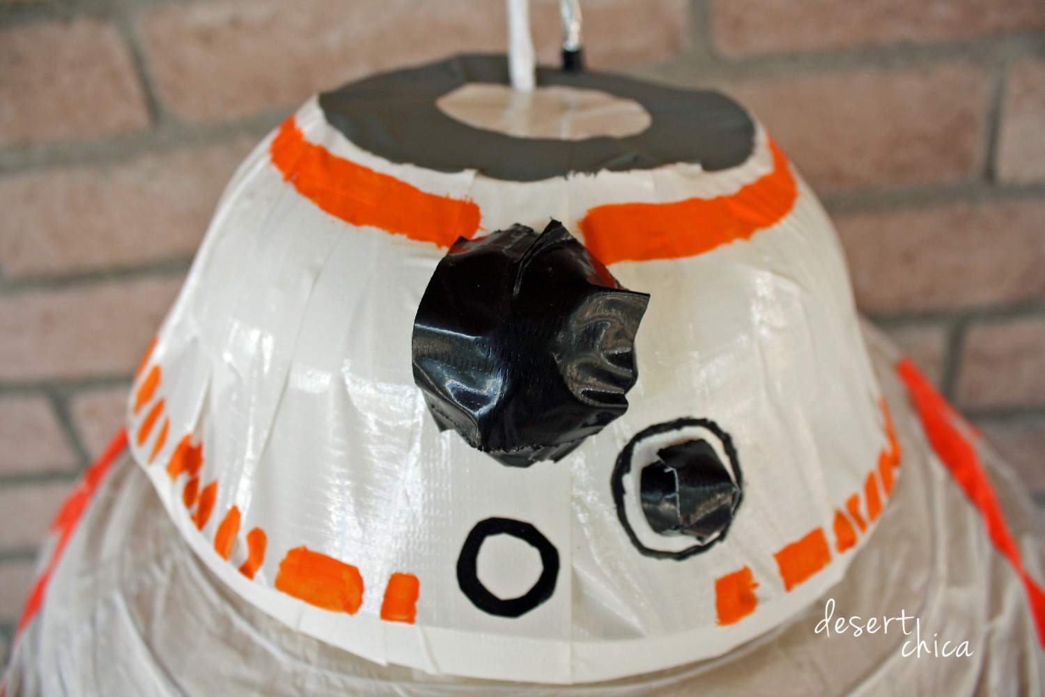 DIY bb-8 costume helmet
