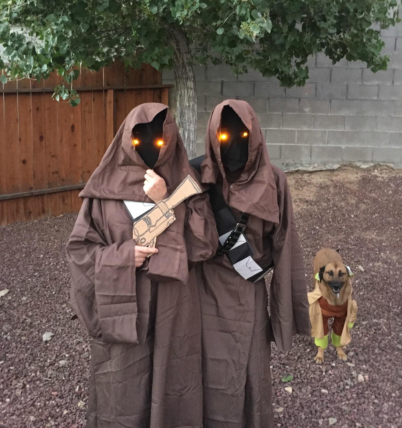 DIY jawa costumes