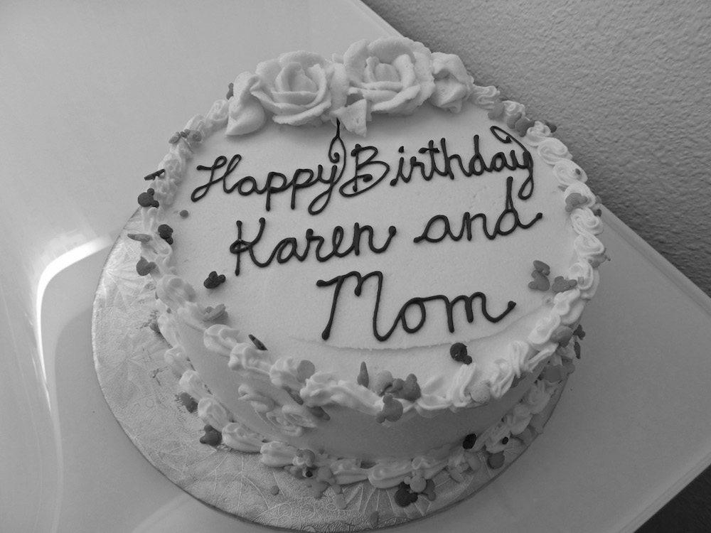 Disney Celebration Birthday Cake from BoardWalk Bakery