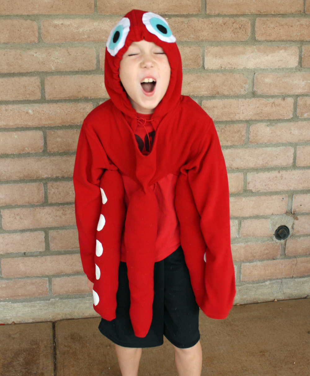 DIY Hank the Octopus Finding Dory Costume