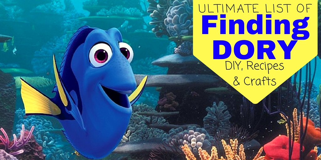 Finding Dory DIY Recipes & Crafts