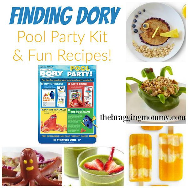 finding dory party kit and recipes