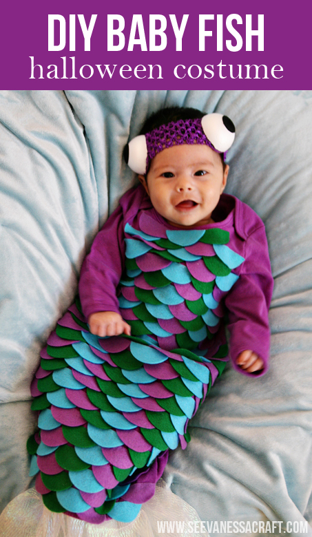 Rainbow Fish Costume is an easy to make book character costume idea