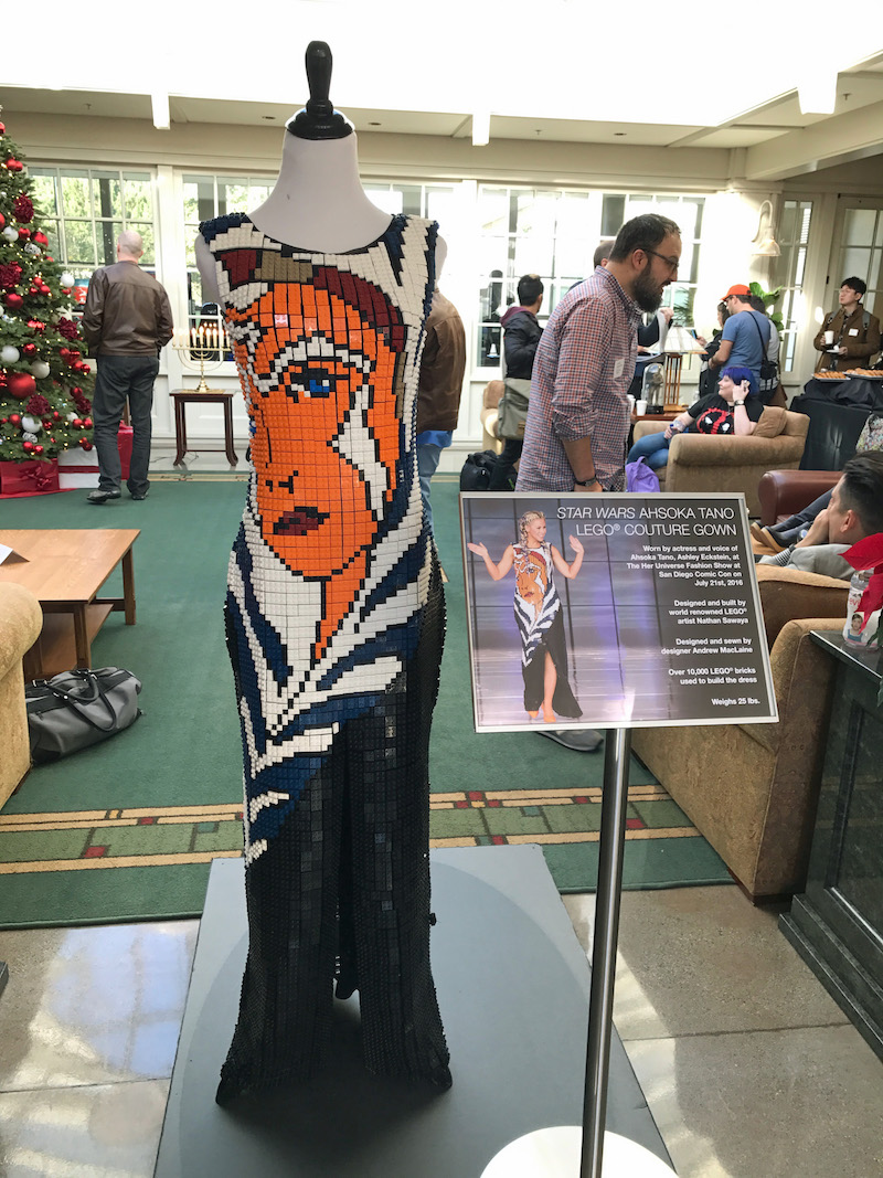 ahsoka-lego-dress-in-lucasfilm-lobby