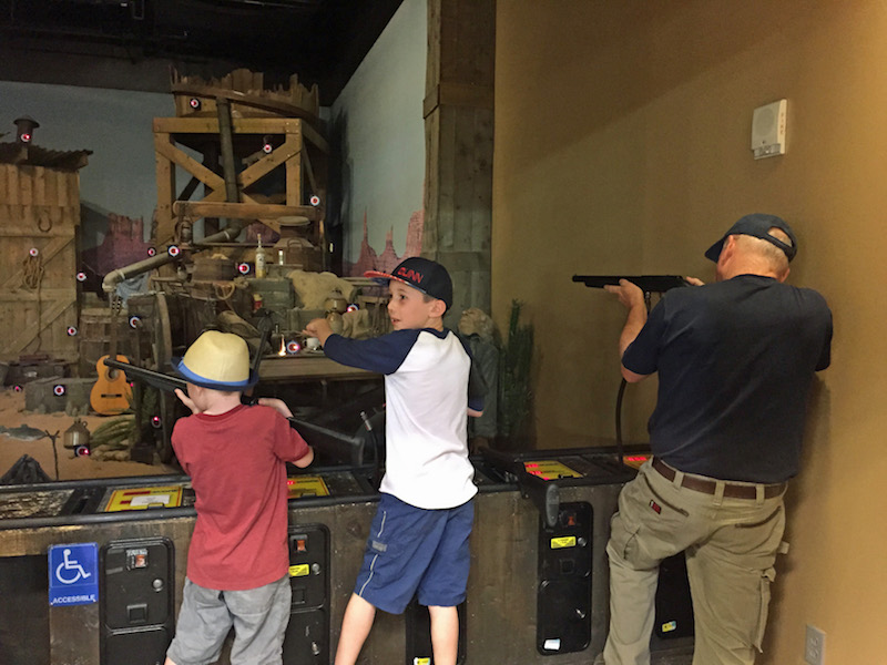 Cabelas - things to do with kids in Phoenix