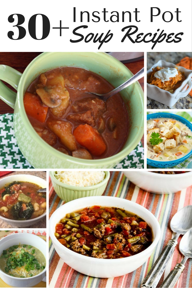 Looking for a new soup idea to try? Check out this list of over 30 different Instant Pot soup recipes.