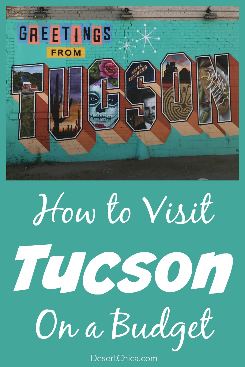 Traveling doesn't have to be expensive, check out these tips on how to visit Tucson on a budget including what to do, where to stay and how to get here!