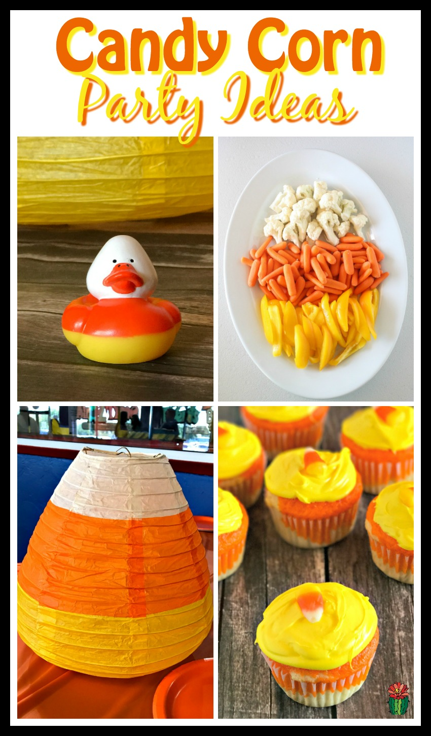 A candy corn party is a perfect theme for Halloween parties, Fall festivals or birthday parties for the super candy corn fan in your life! Don't miss these easy candy corn party ideas including food and decorations.