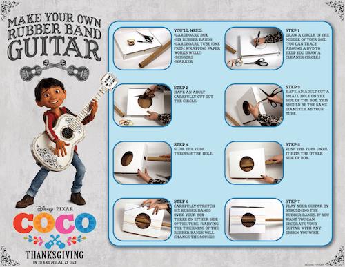 Disney Coco Guitar Instructions