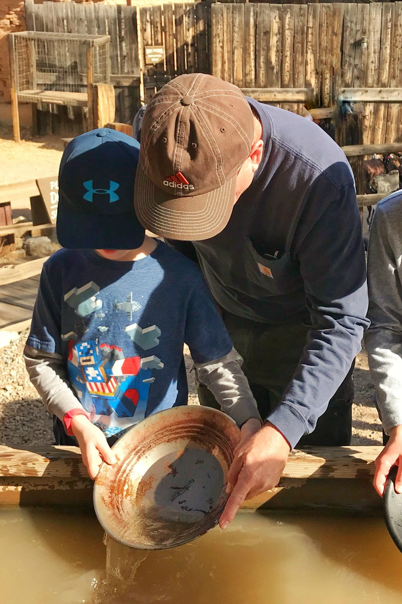 Fun things to do in tucson with kids including Old Tucson Studios, a quintessential Tucson attraction