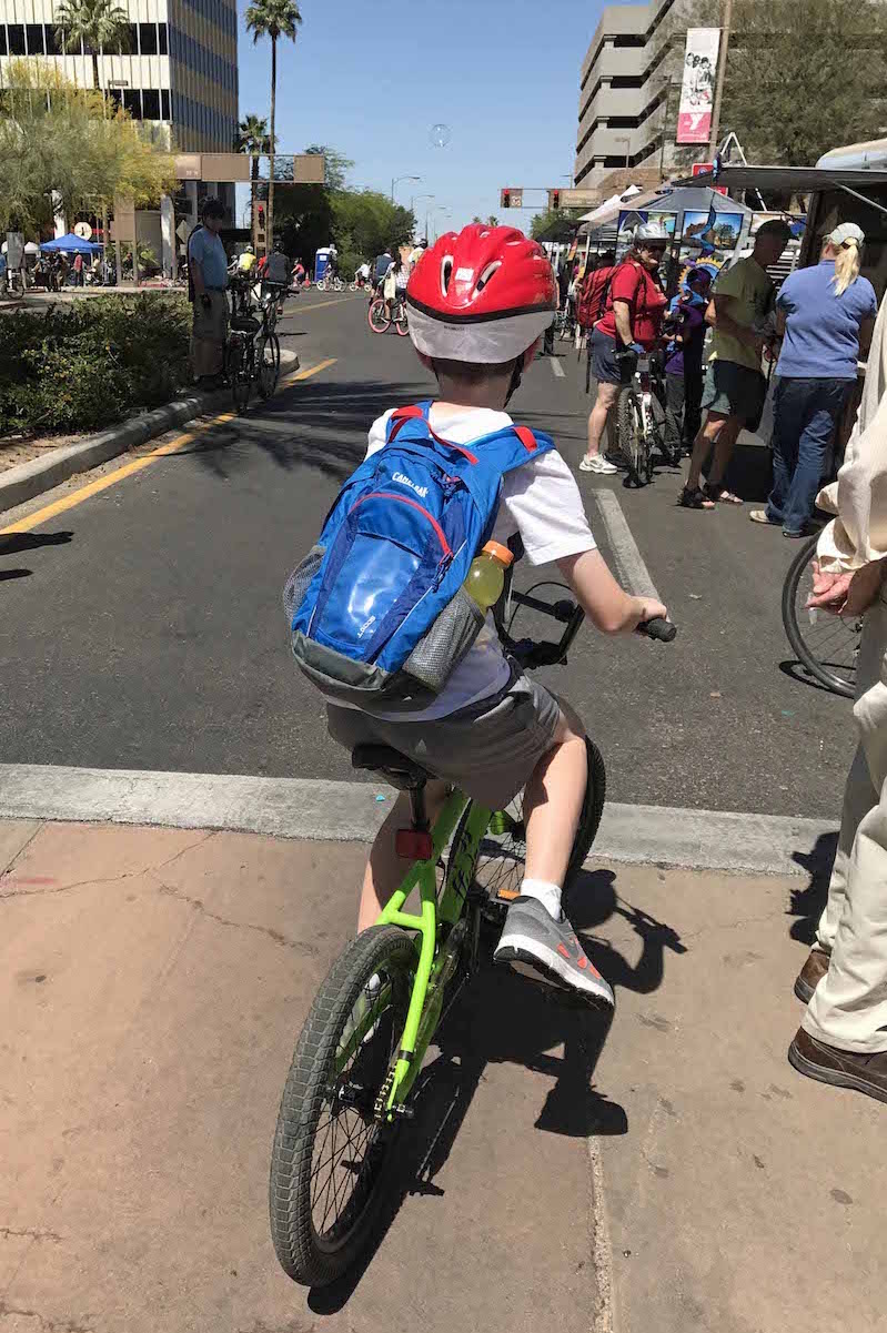 Things to do in Tucson with kids cyclovia Tucson