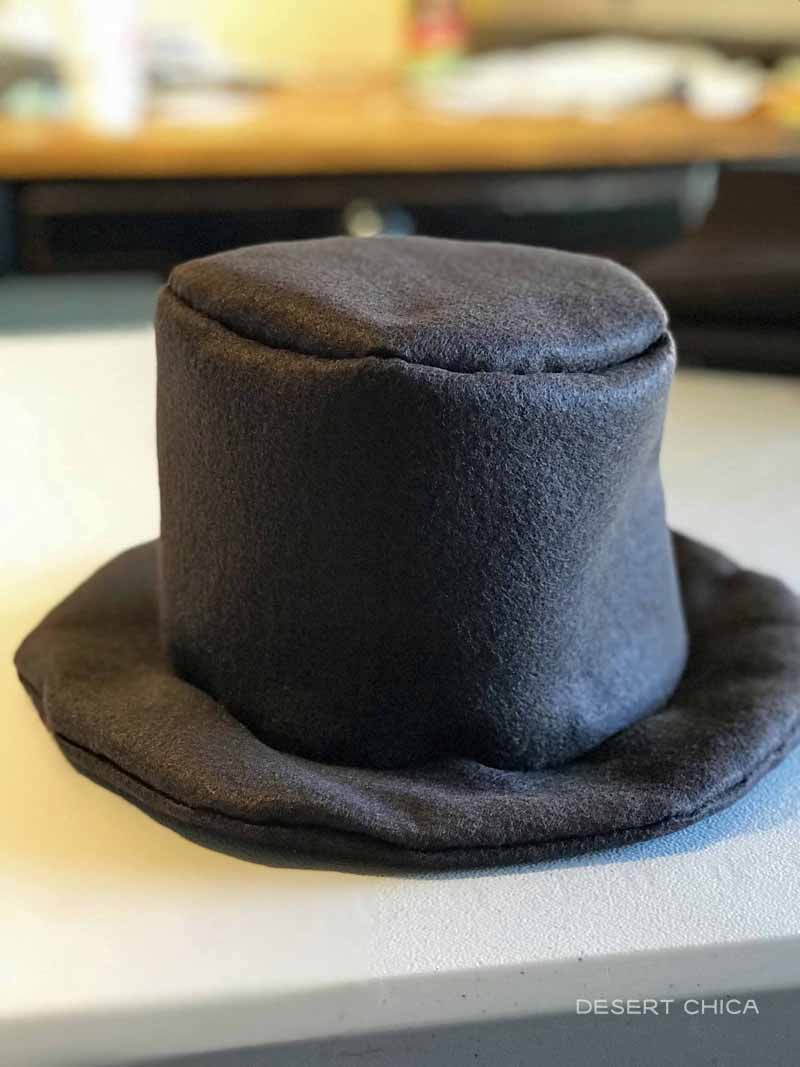 Mr. Brown Costume DIY Top Hat