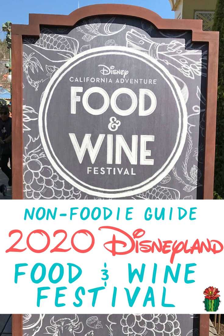 Disneyland Food and Wine Festival Sign