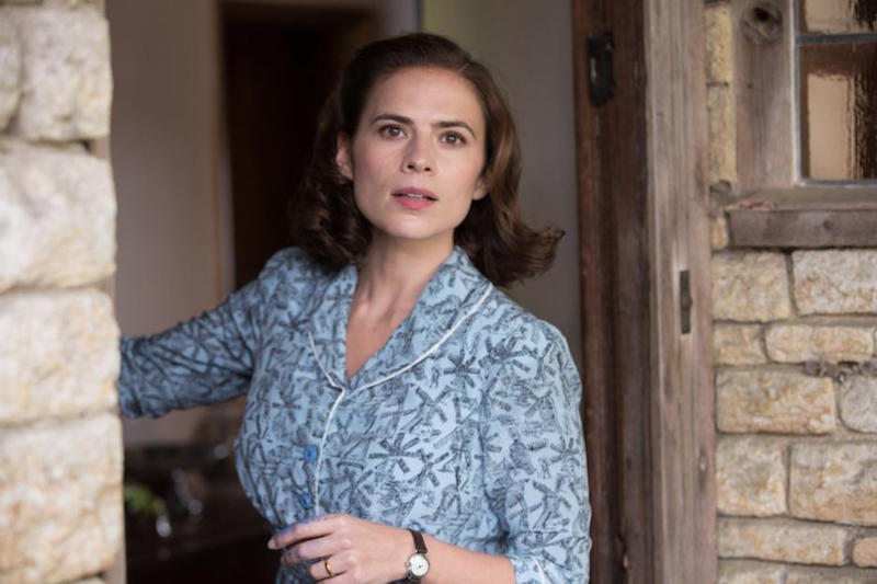 Hayley Atwell Interview as Evelyn Robin in Christopher Robin
