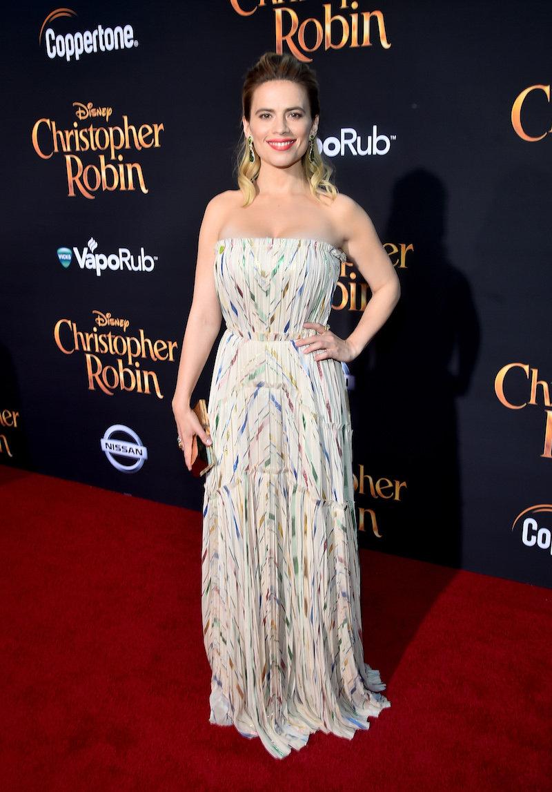 Hayley Atwell at Christopher Robin Premiere