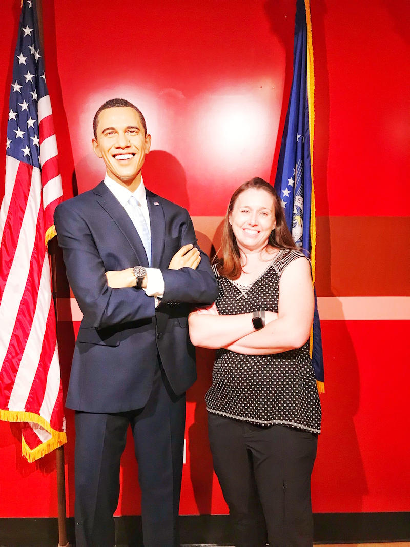 President Obama at Madame Tussauds Hollywood