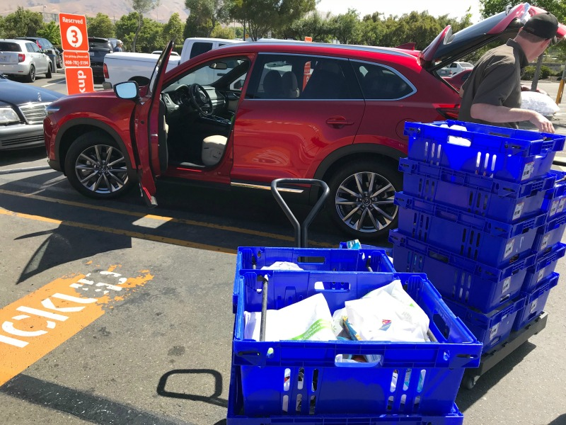 Grocery Pick Up in San Jose for a Yosemite Road Trip Tip