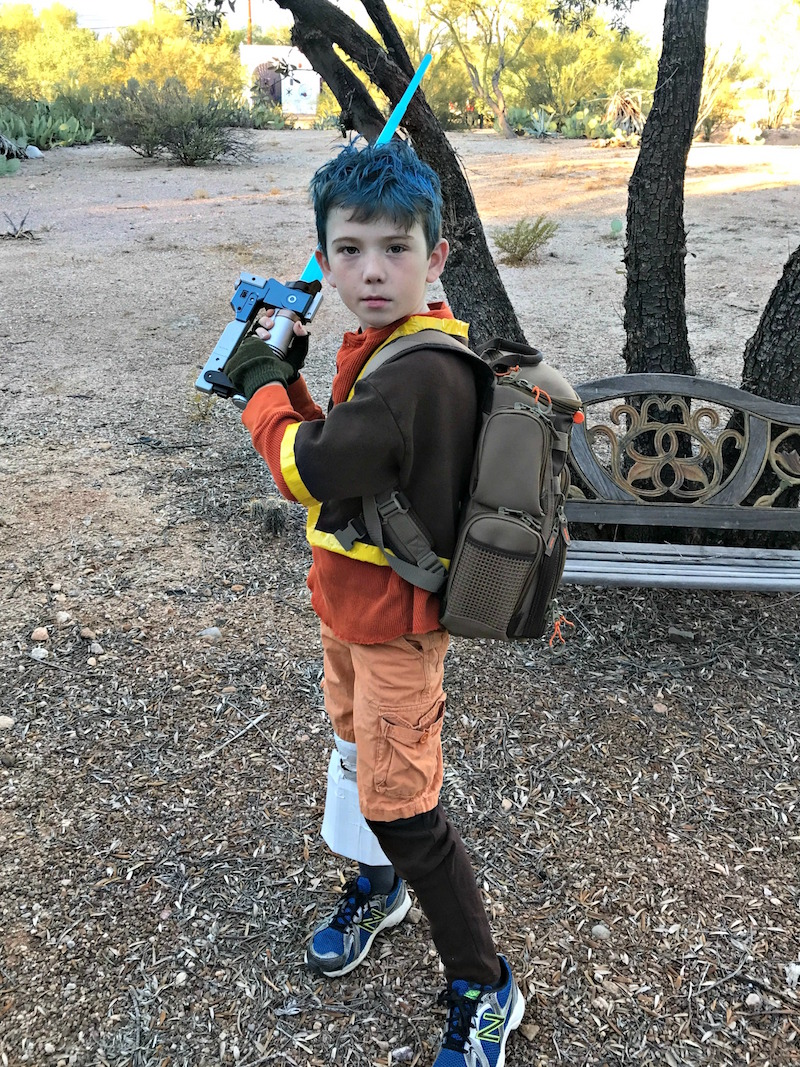 DIY Star Wars Costume - Ezra Bridges