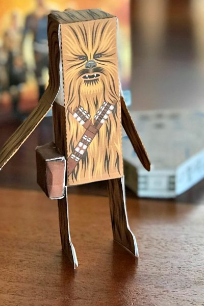 Star Wars Papercraft Chewbacca