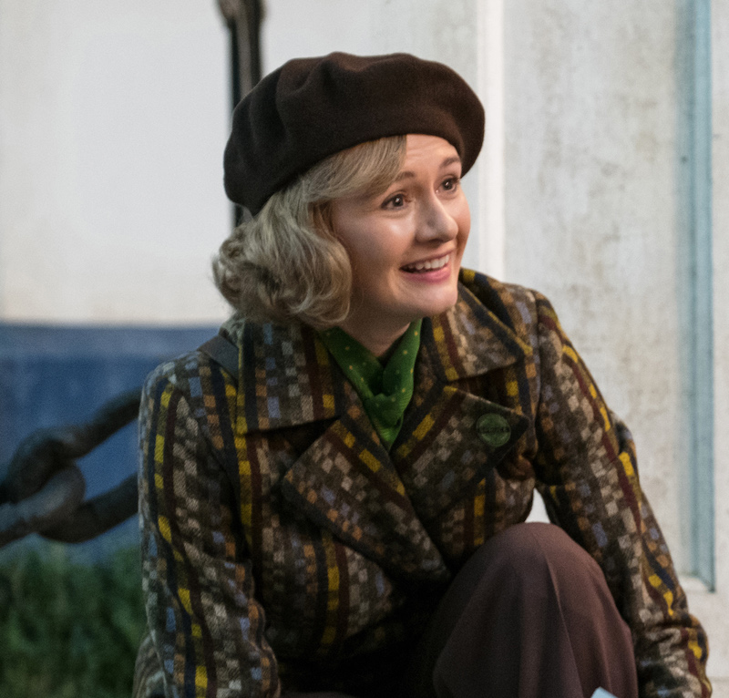 Emily Mortimer as the grown up Jane Banks in Mary Poppins Returns