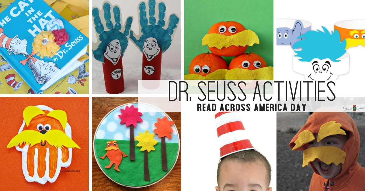 Dr. Seuss Activities for Read Across America Day Social
