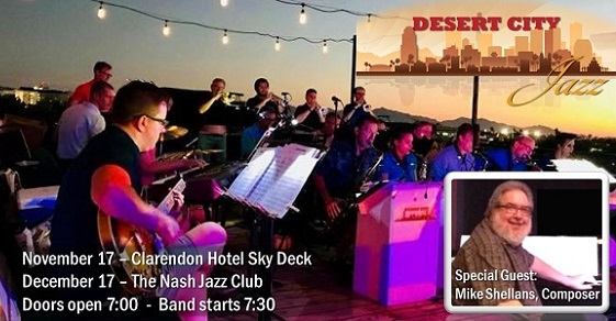 TIckets on sale now for Desert City Jazz fall concerts!