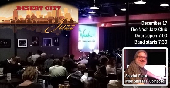 Tickets on sale now for Desert City Jazz at the Nash!