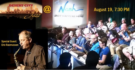 Desert City Jazz returns to the Nash on August 19!