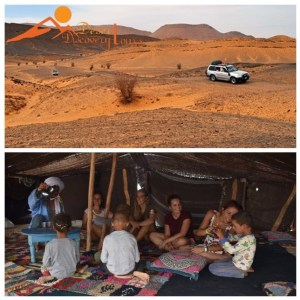 Help nomads in Morocco