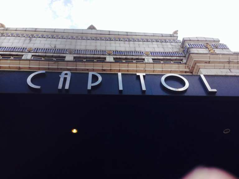 The Capitol sign