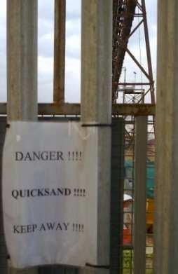 Danger Quicksand