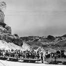 Children from the Death Valley school take an excursion on the railraod - Courtesy National Park Service, Death Valley National Park