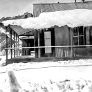 Heavy storm about 1950 to 1952. 18 inches of snow at Ryan - Courtesy National Park Service, Death Valley National Park