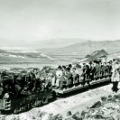 Sight seeing on the Baby Gauge RR, Ryan, California - Courtesy National Park Service, Death Valley National Park