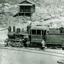 Francis locomotive at Ryan 1915 - Courtesy National Park Service, Death Valley National Park