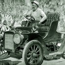 Lew Parker, 1902 Cadillac - Courtesy National Park Service, Death Valley National Park