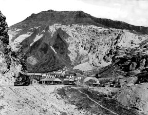 Death Valley Railroad at Ryan - Courtesy National Park Service, Death Valley National Park