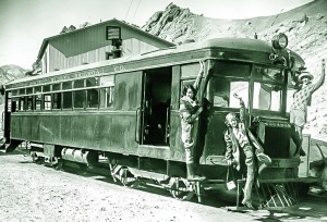 DVRR Brill Motorcar - Courtesy National Park Service, Death Valley National Park