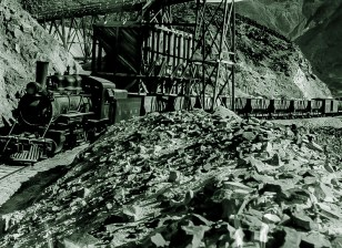 Death Valley Railroad - Courtesy National Park Service, Death Valley National Park