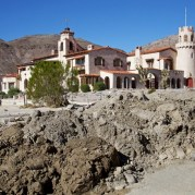Scotty's Castle flood damage. Photo KCET Osceola Refetoff.