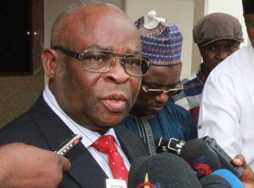 Image result for Walter Onnoghen resigns as CJN