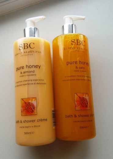 SBC Honey Bath & Shower Creme