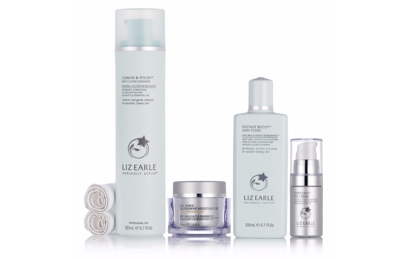 Liz Earle Step Into Superskin TSV on QVCUK 28th May 2016