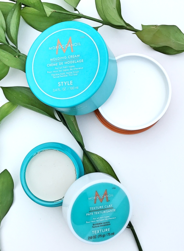 Moroccan Oil Moulding Cream & Texture Clay Duo