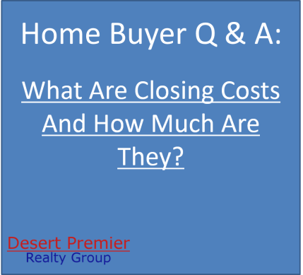 What are closing costs and how much are they?